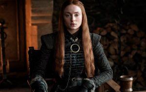 Sophie Turner diz que não ficou chateada com o desfecho de Sansa Stark