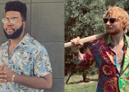 Khalid mostra trechinho de sua nova música com Ed Sheeran!