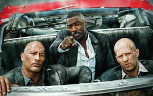 Dwayne Johnson, Jason Statham e Idris Elba na capa da Entertainment Weekly
