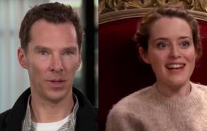 Benedict Cumberbatch e Claire Foy vão estrelar cinebiografia juntos!
