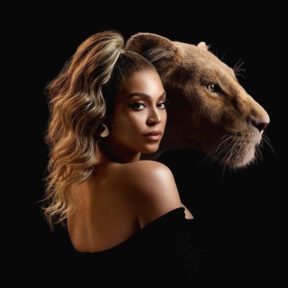 """Beyoncé em """"O Rei Leão\"""