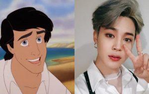 """Fãs de BTS estão pedindo para que Jimin seja o príncipe em """"A Pequena Sereia""""!"""