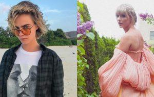 Cara Delevingne critica comentário de Hailey Bieber e defende Taylor Swift