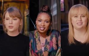 "Taylor Swift, Jennifer Hudson e Rebel Wilson no vídeo dos bastidores de ""Cats"""