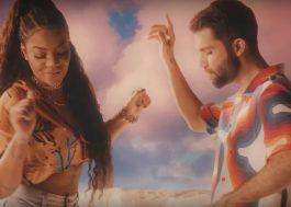 "Nada pode abalar Silva e Ludmilla no clipe de ""Um Pôr do Sol na Praia"""