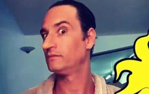 """Rodrigo Santoro mostra caracterização de Louco, seu personagem em """"Turma da Mônica: Laços"""""""