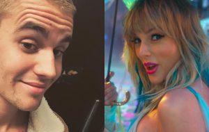 Justin Bieber rebate acusações de Taylor Swift e declara apoio a Scooter Braun