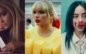 Ariana Grande, Taylor Swift e Billie Eilish lideram lista de indicados ao VMA 2019