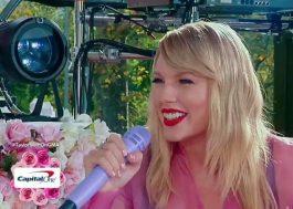 Toda cor-de-rosa, Taylor Swift canta músicas do novo álbum em show no Central Park