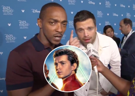 Anthony Mackie e Sebastian Stan brincam com situação de Tom Holland na Marvel