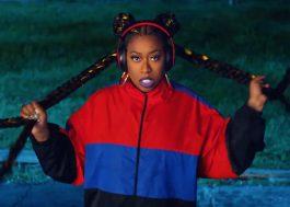 """Missy Elliott lança seu 1º EP em 14 anos e tá dançando muito no clipe de """"Throw It Back""""!"""