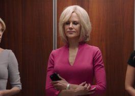 """Margot Robbie, Nicole Kidman e Charlize Theron estão aflitas no teaser de """"Bombshell"""""""