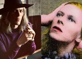 Johnny Flynn se transforma em David Bowie na 1ª foto da cinebiografia do cantor!