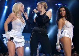 MTV publica em HD apresentação de Madonna, Britney e Christina Aguilera no VMA 2003