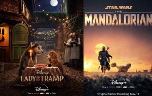 """""""A Dama e o Vagabundo"""", """"The Mandalorian"""" e mais: conheça todas as produções do Disney+"""