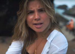 """No clipe de """"Menina Solta"""", Giulia Be se diverte com amigos na praia"""