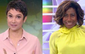 Sandra Annenberg vai apresentar o Globo Repórter ao lado de Glória Maria!