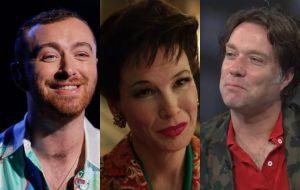 """Sam Smith e Rufus Wainwright farão duetos com Renée Zellweger na trilha sonora de """"Judy"""""""