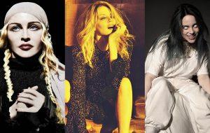 Madonna, Kylie Minogue e Billie Eilish lideram lista de fitas K7 mais procuradas em 2019
