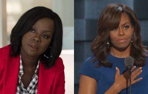 Viola Davis vai interpretar Michelle Obama em nova série do Showtime!
