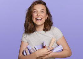 Millie Bobby Brown lança linha de cosméticos veganos <3
