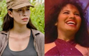 """Christian Serratos, de """"The Walking Dead"""", pode estrelar série de Selena Quintanilla"""