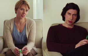 """Scarlett Johansson e Adam Driver dão sua visão do casamento em trailers de """"História de um Casamento"""""""