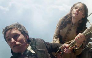 """Trailer de """"The Aeronauts"""" mostra Eddie Redmayne e Felicity Jones em perigo nas alturas"""