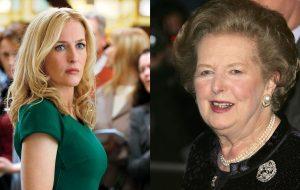 """""""Estou muito animada"""", diz Gillian Anderson sobre interpretar Margaret Thatcher em """"The Crown"""""""