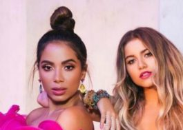 """Anitta e Sofía Reyes cantam """"R.I.P."""" em festival de música no México"""