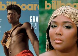 """Lil Nas X e Lizzo são capa de edição da Billboard sobre o Grammy: """"Modelo para jovens artistas"""""""