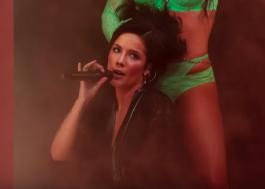 """Halsey canta """"Graveyard"""" em nova prévia do desfile da """"Savage X Fenty"""", grife da Rihanna"""