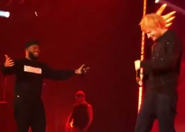 "Khalid e Ed Sheeran cantam juntos sua música ""Beautiful People"" pela 1ª vez ao vivo!"