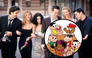 """""""Turma da Mônica"""" faz homenagem aos 25 anos de """"Friends"""""""