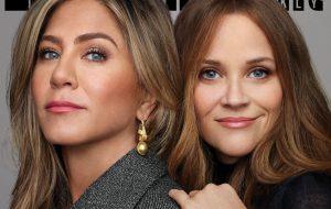 "Saíram fotos de ""The Morning Show"", série estrelada por Jennifer Aniston e Reese Witherspoon"