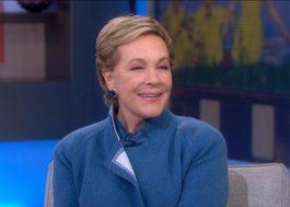 Julie Andrews vai receber prêmio pela carreira!