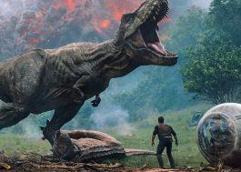 """Battle at Big Rock"": Dinossauros brigam em novo curta de ""Jurrasic World"""
