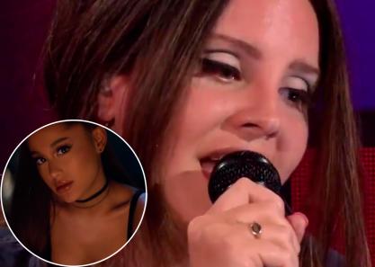 Lana canta Ariana!