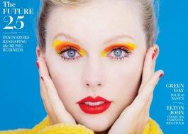 """Capa da Rolling Stone, Taylor Swift diz: """"Katy Perry, Gaga, Beyoncé e Rihanna serão lendárias"""""""