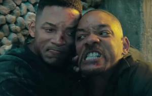 """Will Smith trava batalha contra si mesmo em vídeo dos bastidores de """"Projeto Gemini"""""""