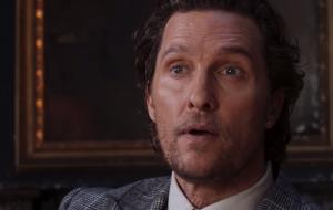 """Matthew McConaughey interpreta chefão do mundo das drogas no trailer de """"The Gentlemen"""""""