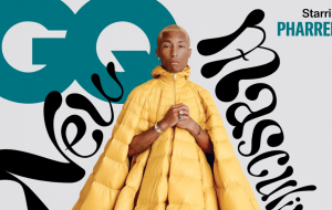 Pharrell Williams fala sobre masculinidade para a revista americana GQ