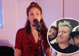 """Shakira posta vídeo cantando """"Basket Case"""" do Green Day"""