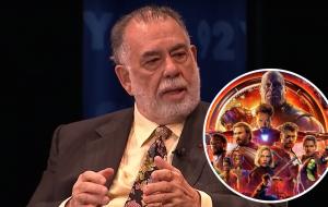 """Coppola esclarece opinião sobre filmes de super-heróis: """"O cinema é como comida"""""""