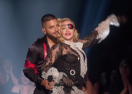 Apresentação de Madonna e Maluma no BBMAs ganha prêmio em evento de tecnologia
