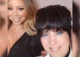 Mariah Carey faz zoeira com Diane Warren e a expulsa de tapete vermelho após selfie