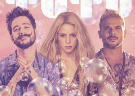 """Shakira lançará remix de """"Tutu"""" junto com Camilo e Pedro Capó"""