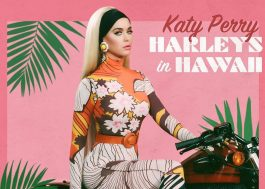 "Katy Perry revela capa e data de lançamento do single ""Harleys in Hawaii"""