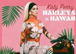 "Katy Perry revela capa e data de lançamento do single ""Harleys in Hawaii"""
