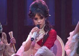 """Camila Cabello canta pela 1ª vez na televisão as músicas """"Easy"""" e """"Cry For Me"""""""
